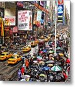 Times Square 1 Metal Print