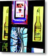 Times Square, Christmas Eve, 2011 Metal Print