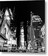 Times Square Don't Shine As Bright As You Metal Print by Ariane Moshayedi