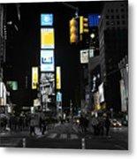 Times Square New York City Big Apple Metal Print
