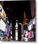 Times Square New York City New Years Eve Metal Print