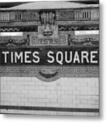 Times Square Station Tablet Metal Print