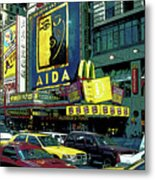 Times Square Visitors Center Metal Print