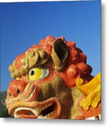 Tin Hua Temple Metal Print