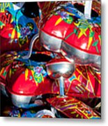 Tin Toys Metal Print by Andy Smy