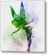 Tinker Bell Metal Print