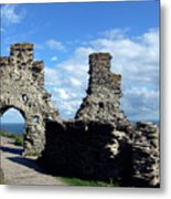 Tintagel Castle 2 Metal Print