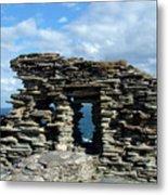 Tintagel Castle 3 Metal Print