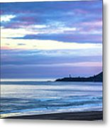 Guiding Light In The Distance Metal Print
