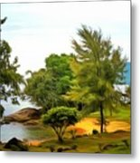 Tioman Island Beach Metal Print