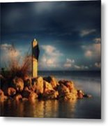 Tip Of The Island Metal Print
