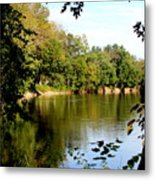 Tippecanoe River By Earl's Photography Metal Print