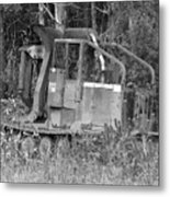 Tired Iron Metal Print