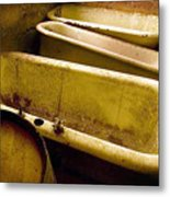 Tired Tubs Metal Print