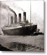 Titanic  Metal Print