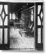 Titanic: Private Deck, 1912 Metal Print by Granger