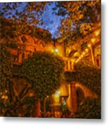 Tlaquepaque Evening Metal Print