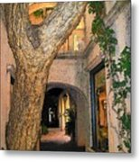 Tlaquepaque Village Tree   Metal Print
