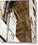 To Be Demolished Metal Print