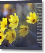 To Everything There Is A Season Metal Print