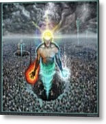 To Rise Above The Masses Metal Print