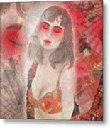 To Tell You A Geisha's Story. Metal Print