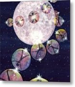 To The Moon And Beyond Metal Print