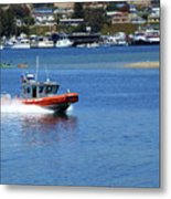 To The Rescue Metal Print