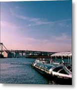 To The Space From Sea Metal Print
