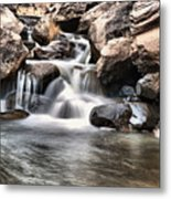 To Watch Calm Water Metal Print