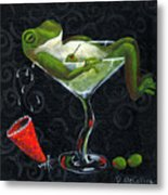 Toadally Under The Influence Metal Print