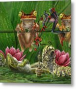 Toasted Frogs Metal Print