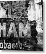 Tobacco Days Metal Print