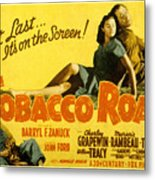 Tobacco Road, Charley Grapewin, Aka Metal Print by Everett