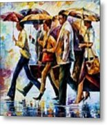 Today I Forgot My Umbrella... Metal Print