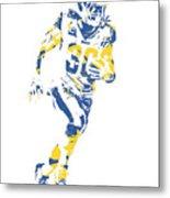 Todd Gurley Los Angeles Rams Pixel Art 30 Metal Print