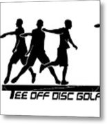Todg Black Logo Metal Print