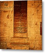 Todi Italy Medieval Door  Metal Print