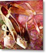 Toe Shoes Metal Print