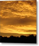 Toffee Sunset 3 Metal Print