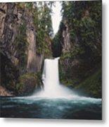 Toketee Falls Metal Print