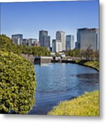 Tokyo From The Palace Metal Print