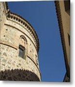 Toledo Castle II Metal Print