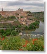 Toledo City, Spain Metal Print