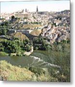 Toledo Morning Metal Print