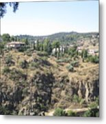 Toledo Spanish Home With A View Metal Print