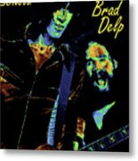 Tom And Brad In Spokane 3 Metal Print