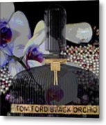 Tom Ford Black Orchid Metal Print