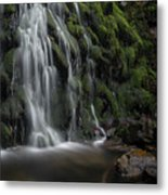 Tom Gill Waterfall, Cumbria, England Metal Print