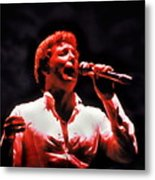 Tom Jones In Concert Metal Print